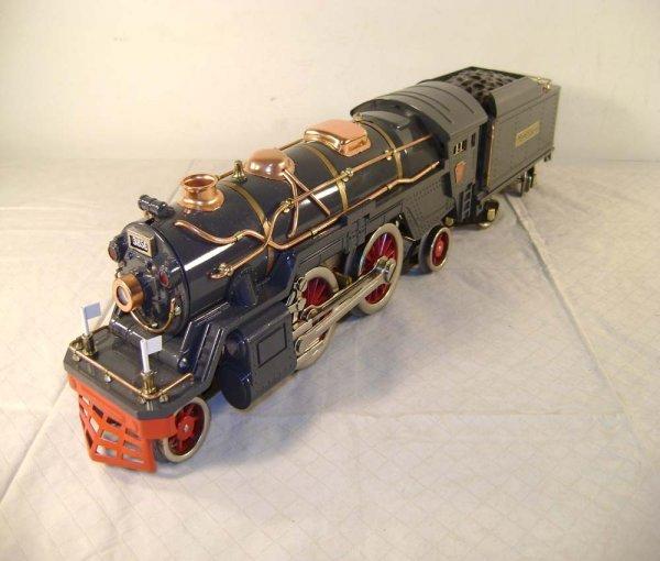 1396: ABT: MTH #385E Gray Steam Engine & Tender