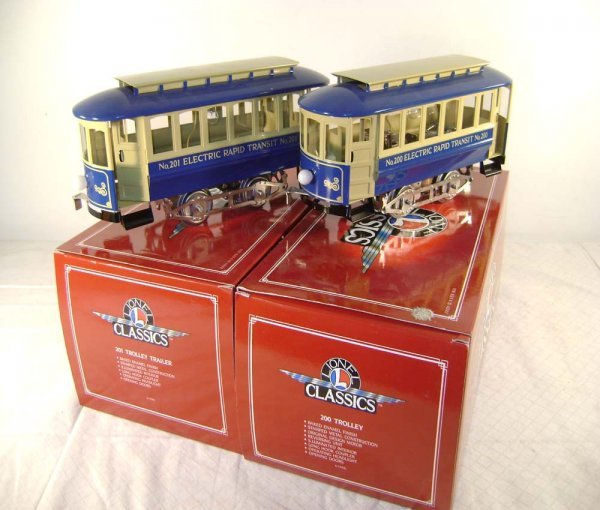 1399: ABT: Lionel #13900/13901 (200/201) Trolleys/OBs