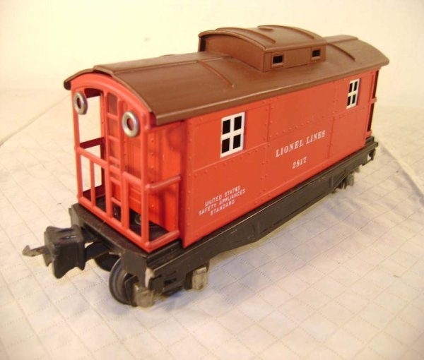1408: ABT: Lionel #2817 Red/Tuscan RS Caboose