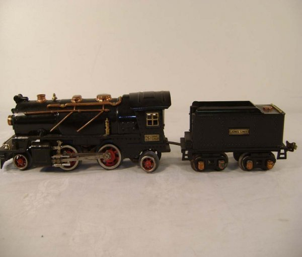 1414: ABT: Lionel #261 Steam Engine and Tender