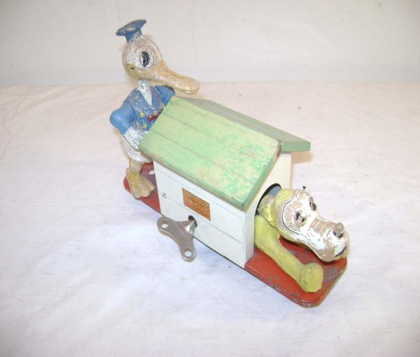 1415: ABT: Lionel #1107 Donald Duck Operating Hand Car