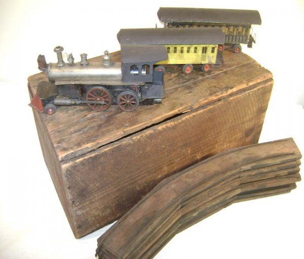 1: ABT: Rare Beggs Live Steam Train in Org. Crate