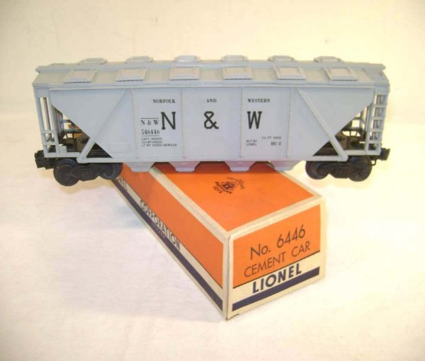 19: ABT: Mint Lionel #6446 N&W Grey Hopper/ OB