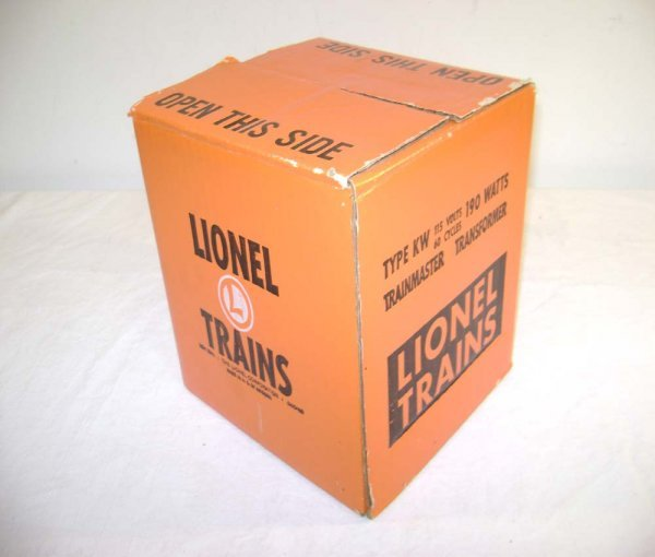 23: ABT: Sealed Lionel #KW Transformer/Orange OB