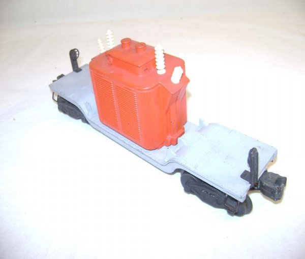 24: ABT: Lionel Unstamped #2461 Red Transformer Car