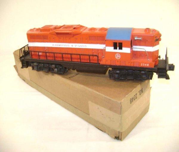 230: ABT: Lionel #2348 M&SL GP-9 Diesel/OB
