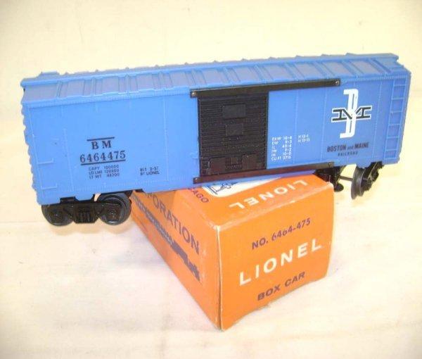 232: ABT: Lionel #6464-475 B&M Type IV Box Car/Pix Box