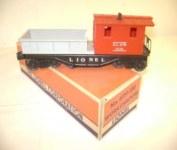 234: ABT: Lionel #6119-100 DL&W Red/Gray/58OB