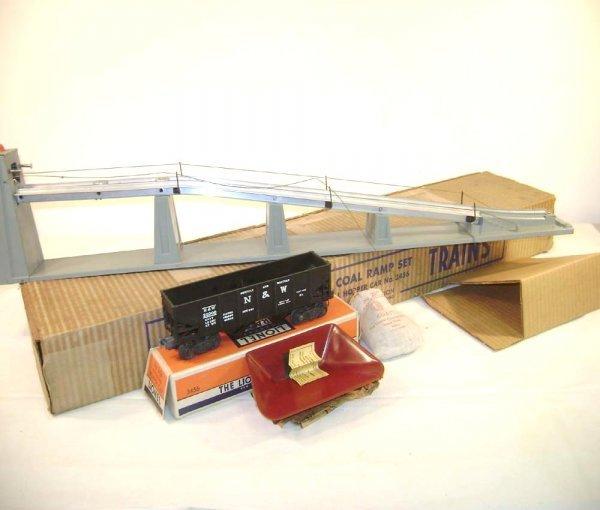 236: ABT: Lionel #456 Oper Coal Ramp Set/ 1952 OB+