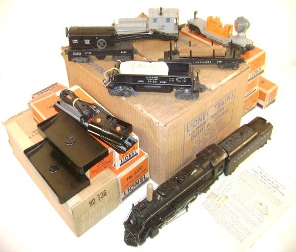 240: ABT: Lionel #2213WS 1953 Work Train Outfit/Obs