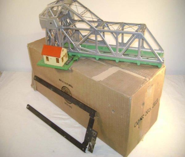 244: ABT: Lionel #313 Operating Bascule Bridge/OB