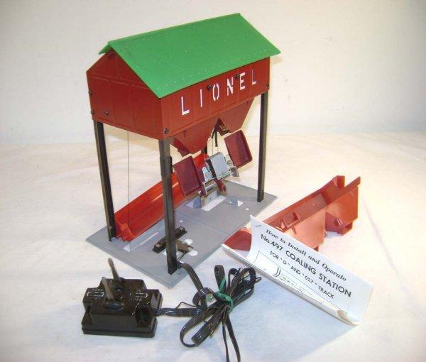 248: ABT: Lionel #497 Coaling Station/Light Green Roof