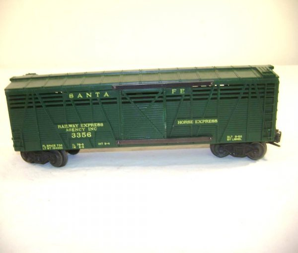 251: ABT: Lionel #3356 Horse Car & Corral/Classic OB - 6