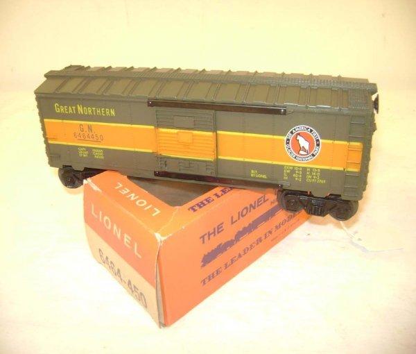 252: ABT: Lionel #6464-450 GN Box Car/Brick 66c Box