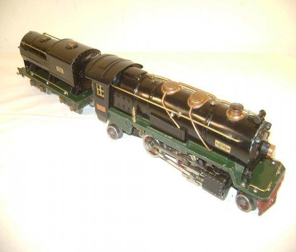 576: ABT: Lionel #260E/260T Black/Green Steam Engine &