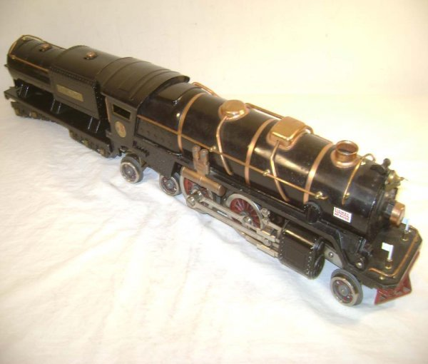 1: ABT: Lionel #400E/400T Black Std Steam & Tender