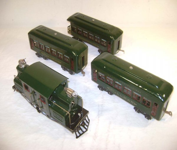 4: ABT: Lionel #703 4-4-4 Dark Green w/610/610/612 Pass