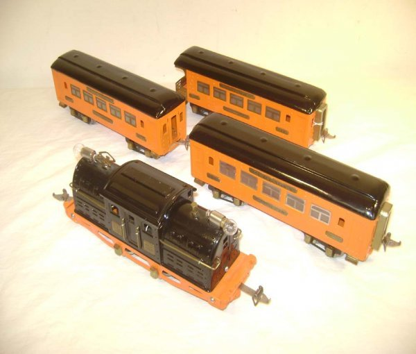 7: ABT: Ives #3257 Black/Orange w/#141/141/142 Matching