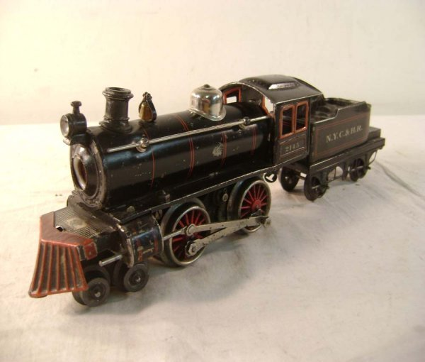 22: ABT: Bing #2145 Black Electric 4-4-0 Steam & Tender