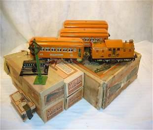 ABT:Great Lionel #142E Orange Passenger Set/OBs