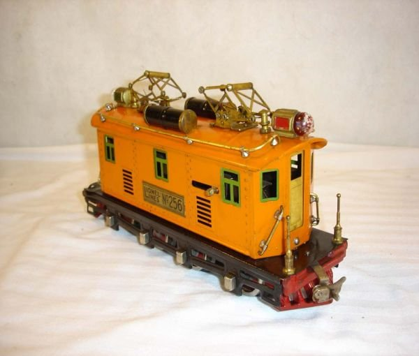 2: ABT:Nice Lionel #256 Brass Plates Electric Engine