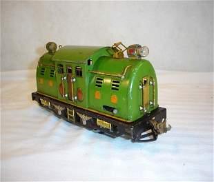 ABT:Lionel #254 Pea Green w/Orange Hatches