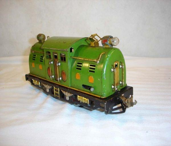 7: ABT:Lionel #254 Pea Green w/Orange Hatches