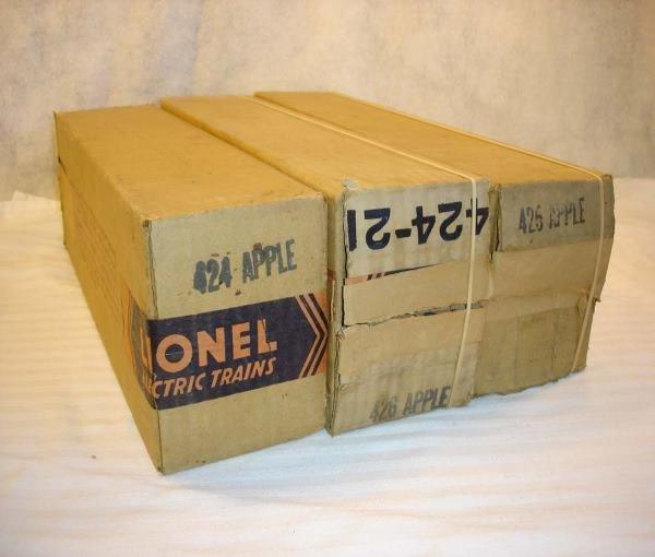 13: ABT:Lionel #424/425/426 Stph Girard Original Boxes