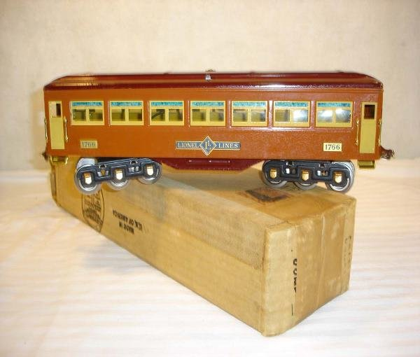 19: ABT:Great Lionel (Ives) #1766 TerraCotta Pullman/ O