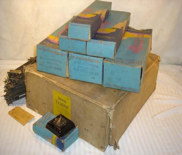 114: ABT:Ives #1071 Tiger Set Original Set Box/Boxes