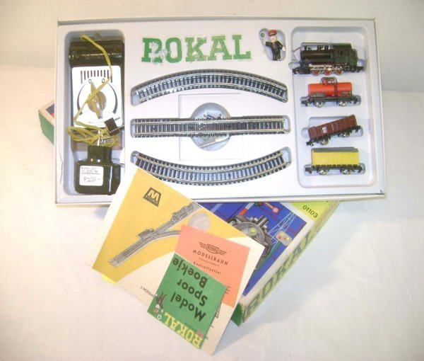 1: ABT: Great TT Rokal #01103 TR Freight Set/OB