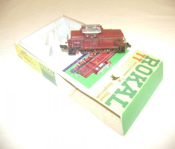 7: ABT: TT Rokal #01020 Red Diesel Engine/OB