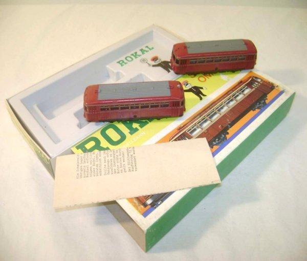 11: ABT: TT Rokal #01163 Schienenbus Set of 2 Omnibuses