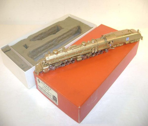 190: ABT: HO Brass - Westside Model #3000 AT&SF 2-10-10