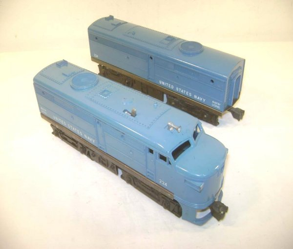 4: ABT: Lionel #224P/C US Navy Alco AB Diesels