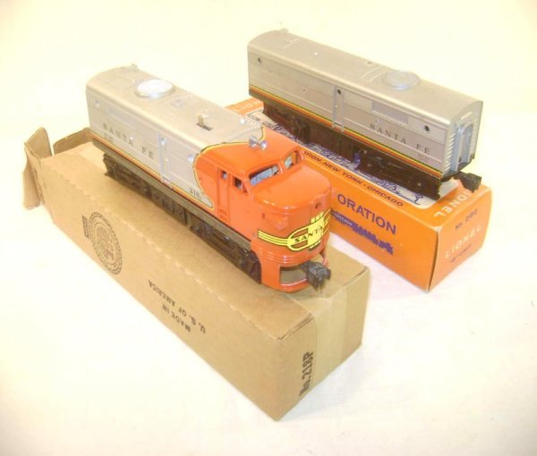12: ABT: Lionel #218 Santa Fe Alco AB Diesels/OBs