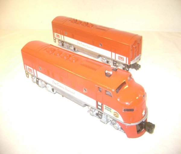 20: ABT: Lionel #2245 Texas Special F-3 AB Diesels