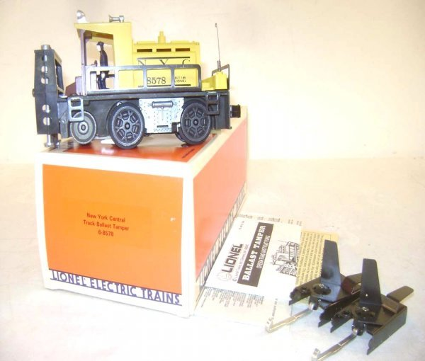 3: ABT: Great Lionel #8578 NYC Ballast Tamper/OB