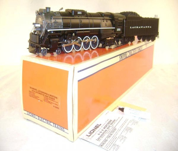 6: ABT: Great Lionel #18003 DL &W 4-8-4 Diecast Steam E