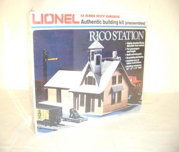7: ABT: Mint/Sealed Lionel #2709 Rico Station/OB