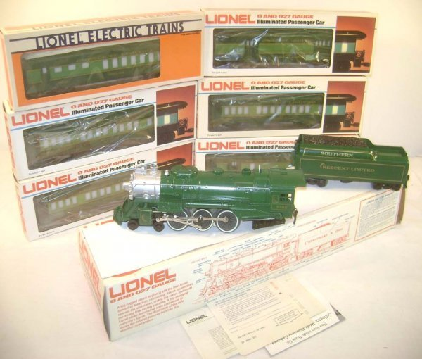 10: ABT: Great Lionel #8702 Seven Piece Southern Cresce