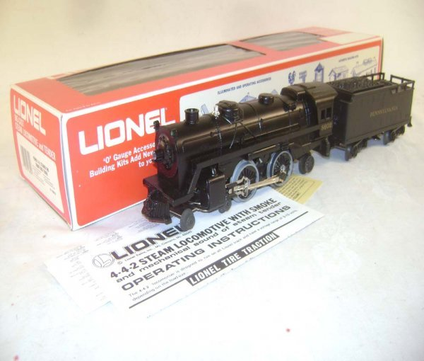 11: ABT: Great Lionel #18602 Pennsylvania Steamer & Squ