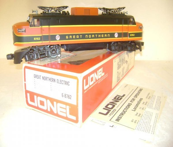 13: ABT: Mint Lionel #8762 Great Northern Electric/OB