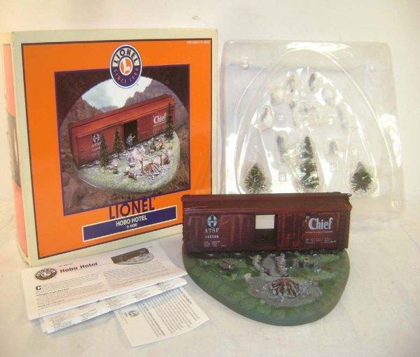 16: ABT: Lionel #14080 Operating ATSF Hobo Motel/OB
