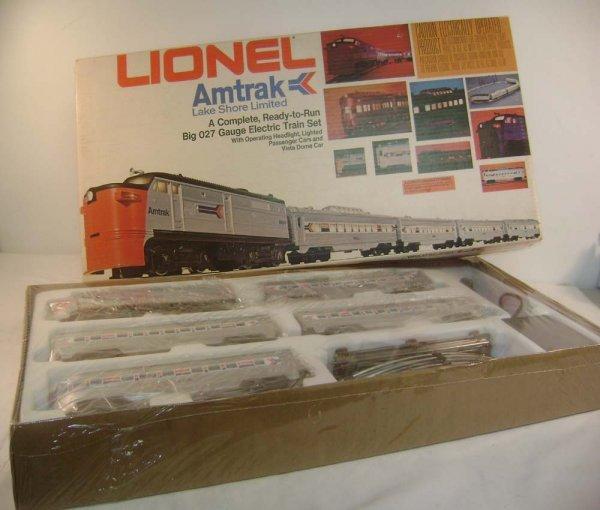 24: ABT: Sealed Lionel #1663 Amtrak Lake Shore Limited