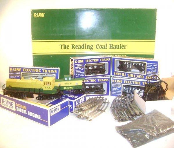 165: ABT: K-Line #1803 The Reading Coal Hauler Train Se