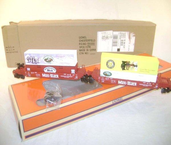 4: ABT: Mint Lionel #52482 TCA 2008 TTUX Maxi-Stack/OB