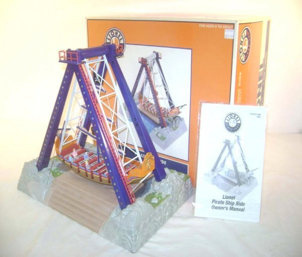 6: ABT: Mint Lionel #14171 Operating Pirate Ship Access