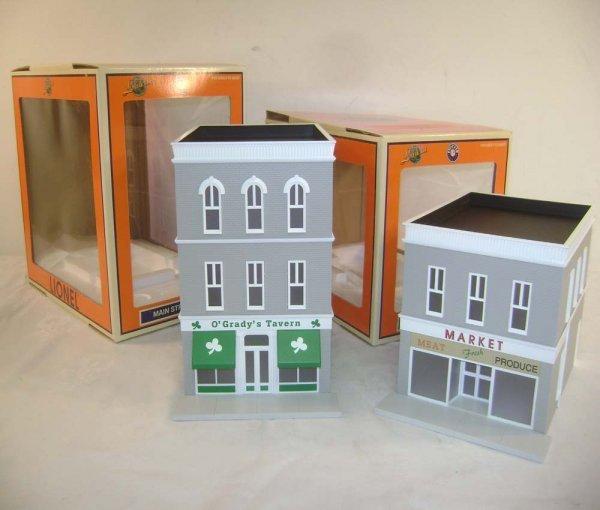9: ABT: Lionel #34127 & #34126 O Gauge Buildings/OBs