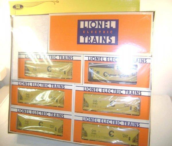 10: ABT: Mint/Sealed Lionel #11705 Chessie System Std O